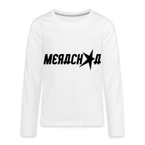 Merachka Logo - Kids' Premium Long Sleeve T-Shirt