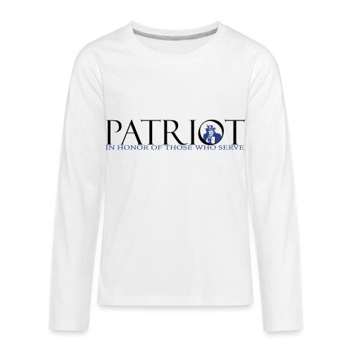 PATRIOT_SAM_USA_LOGO - Kids' Premium Long Sleeve T-Shirt