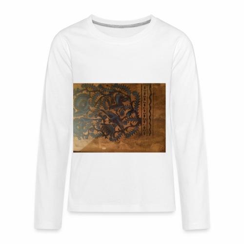 Dilfliremanspiderdoghappynessdogslikeitverymuchtha - Kids' Premium Long Sleeve T-Shirt