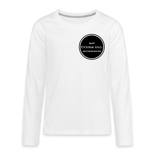 Crime Inc Small Design - Kids' Premium Long Sleeve T-Shirt