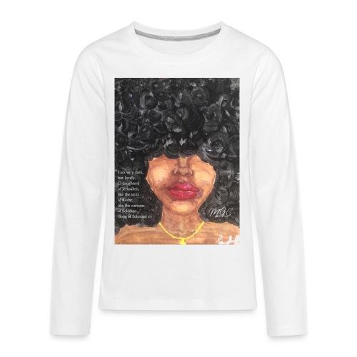 Song of Solomon 1:5 - Kids' Premium Long Sleeve T-Shirt