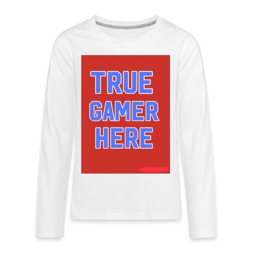 58722AF6 0345 4B70 A70B FBF270884866 - Kids' Premium Long Sleeve T-Shirt