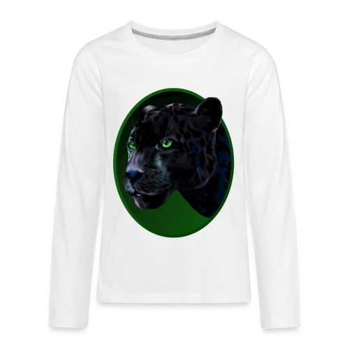 Big Black Jaquar - Kids' Premium Long Sleeve T-Shirt