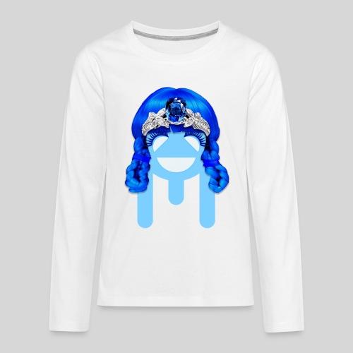 ALIENS WITH WIGS - #TeamMu - Kids' Premium Long Sleeve T-Shirt