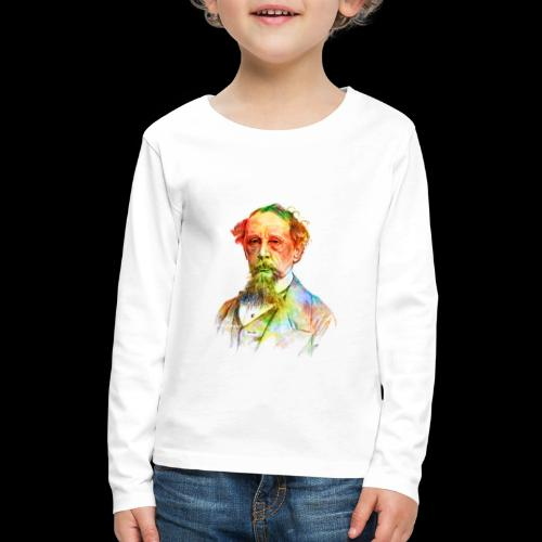 What the Dickens? | Classic Literature Lover - Kids' Premium Long Sleeve T-Shirt