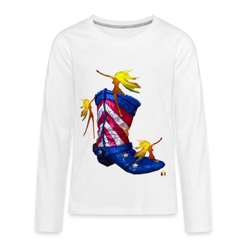 Boot Hoot - Kids' Premium Long Sleeve T-Shirt