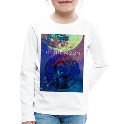 DOGE TO THE MOON - Kids' Premium Long Sleeve T-Shirt