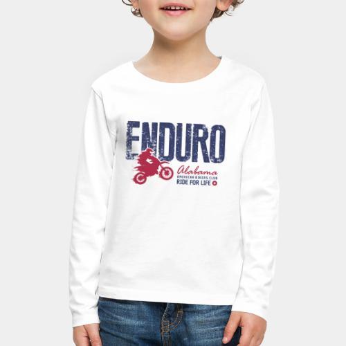 enduro motorcycle bike - Kids' Premium Long Sleeve T-Shirt