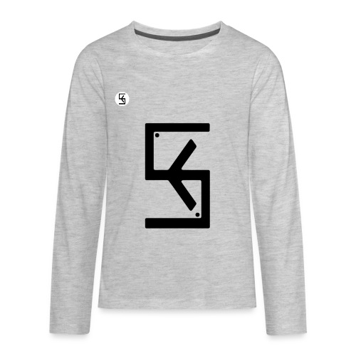 Soft Kore Logo Black - Kids' Premium Long Sleeve T-Shirt