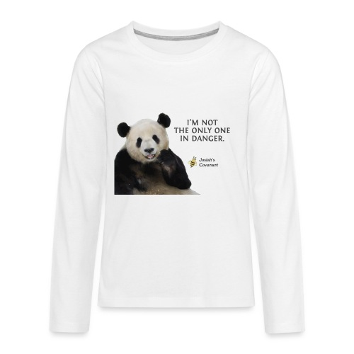 Endangered Pandas - Josiah's Covenant - Kids' Premium Long Sleeve T-Shirt