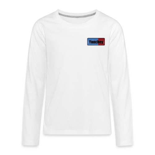 Yonchey logo - Kids' Premium Long Sleeve T-Shirt