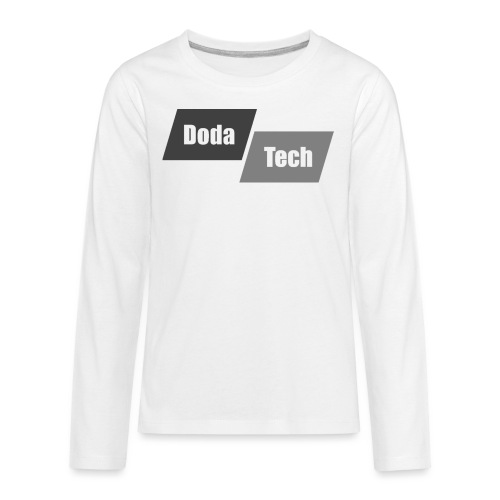DodaTech Logo - Kids' Premium Long Sleeve T-Shirt