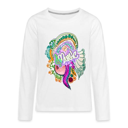 Music - Kids' Premium Long Sleeve T-Shirt