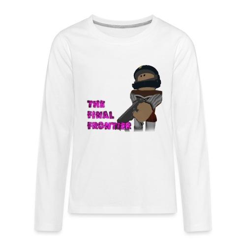 The Final Frontier - Kids' Premium Long Sleeve T-Shirt