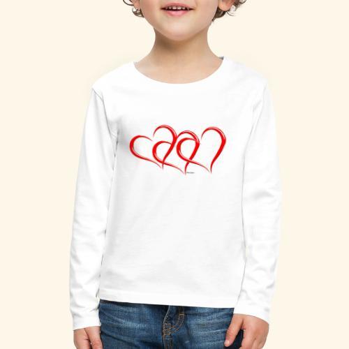 3hrts - Kids' Premium Long Sleeve T-Shirt
