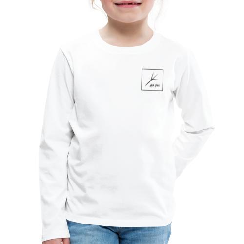 Black Square - Kids' Premium Long Sleeve T-Shirt