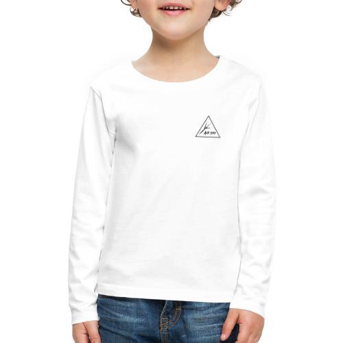 Black Triangle - Kids' Premium Long Sleeve T-Shirt