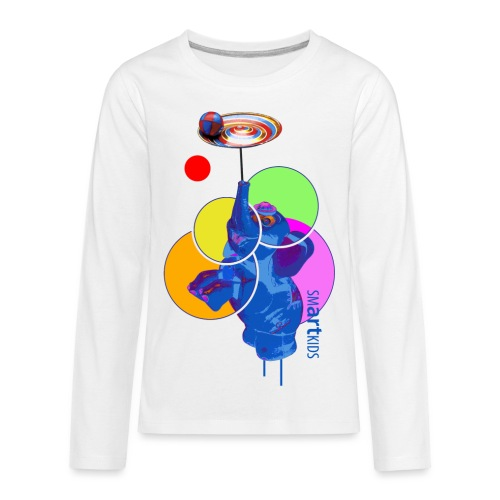 smARTkids - Mumbo Jumbo - Kids' Premium Long Sleeve T-Shirt