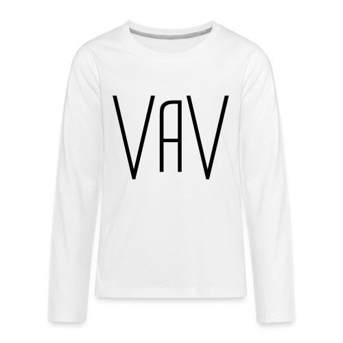 VaV.png - Kids' Premium Long Sleeve T-Shirt