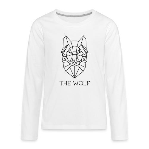 The Wolf - Kids' Premium Long Sleeve T-Shirt