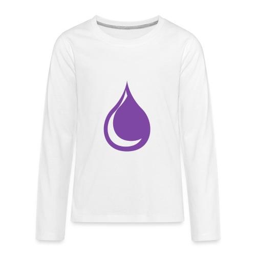 drop - Kids' Premium Long Sleeve T-Shirt