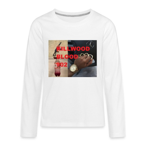 Killwood Blood 902 - Kids' Premium Long Sleeve T-Shirt