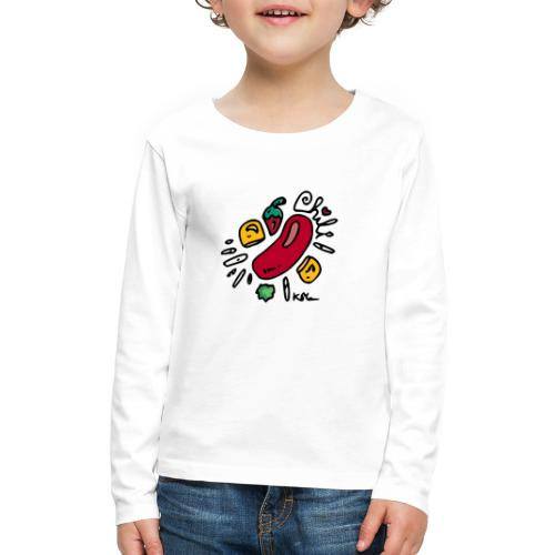Chili - Kids' Premium Long Sleeve T-Shirt