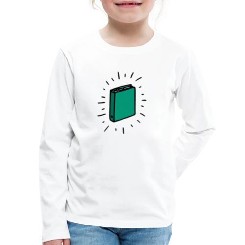 Book - Kids' Premium Long Sleeve T-Shirt