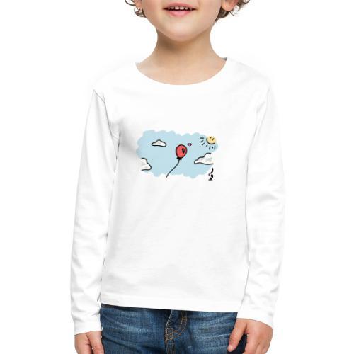 Balloon in Love - Kids' Premium Long Sleeve T-Shirt