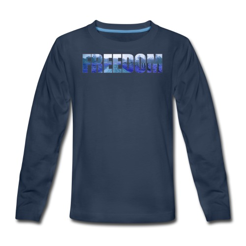 Freedom Photography Style - Kids' Premium Long Sleeve T-Shirt