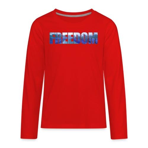 Freedom Photography Style - Kids' Premium Long Sleeve T-Shirt
