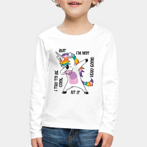cool unicorn - Kids' Premium Long Sleeve T-Shirt