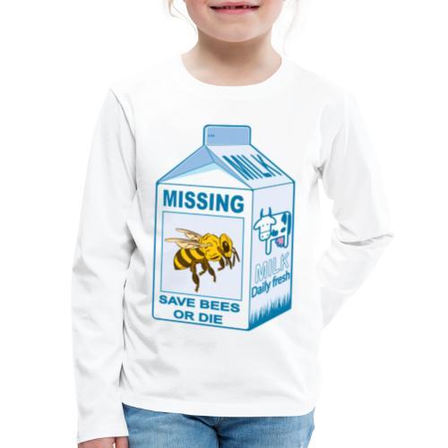Missing Bees - Kids' Premium Long Sleeve T-Shirt