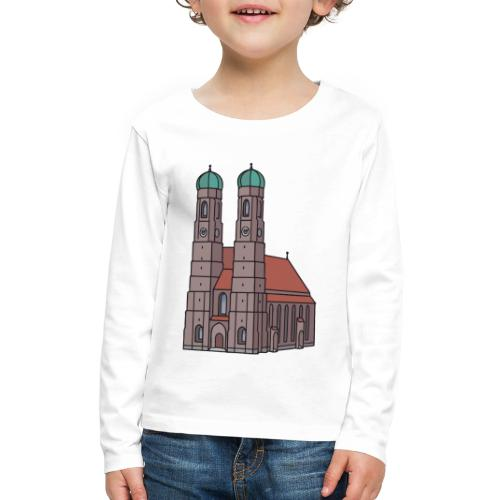 Munich Frauenkirche - Kids' Premium Long Sleeve T-Shirt