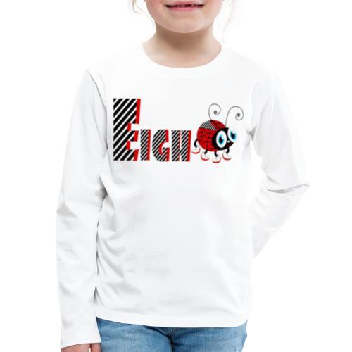 8nd Year Family Ladybug T-Shirts Gifts Daughter - Kids' Premium Long Sleeve T-Shirt