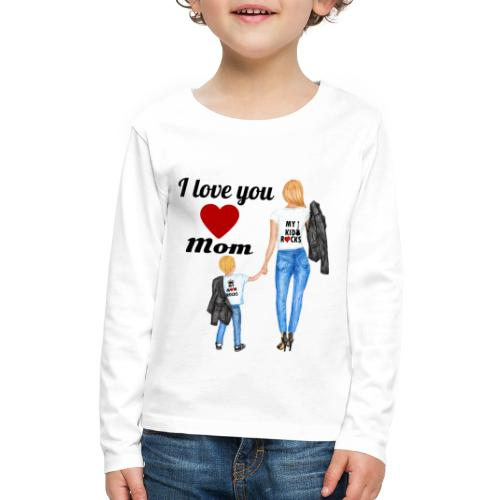 Mother's day gift from daughter, Mother's Day Gift - Kids' Premium Long Sleeve T-Shirt