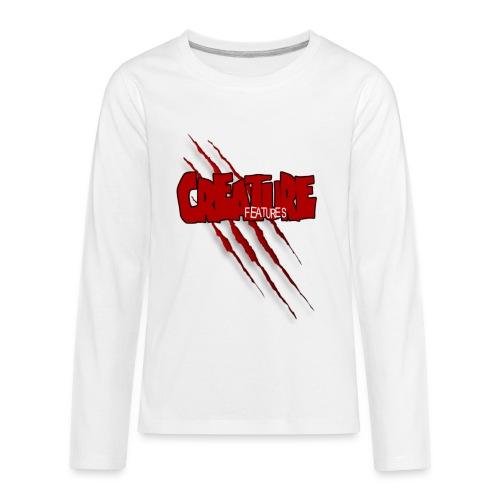 Creature Features Slash T - Kids' Premium Long Sleeve T-Shirt