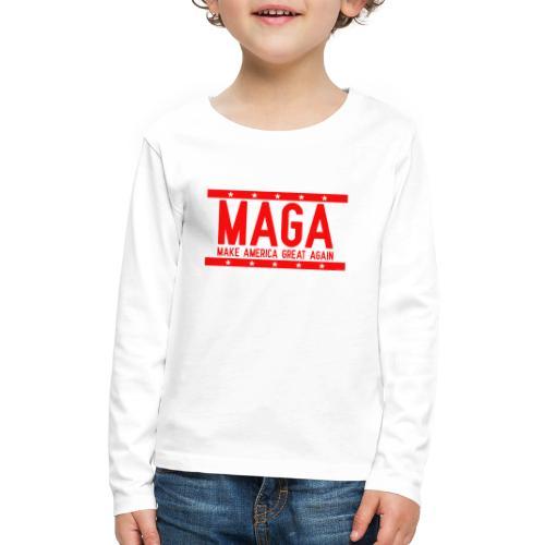 MAGA - Kids' Premium Long Sleeve T-Shirt