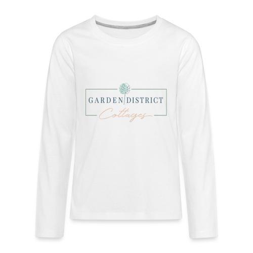 Garden District Cottages Pensacola - Kids' Premium Long Sleeve T-Shirt