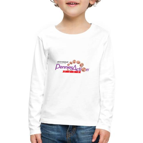Pennies In Action Logo - Kids' Premium Long Sleeve T-Shirt