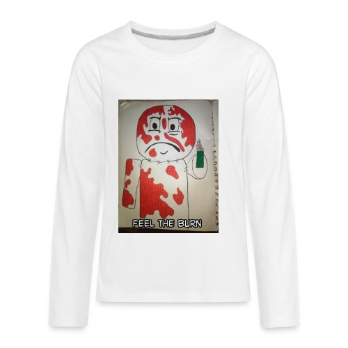 Playing with fire - Kids' Premium Long Sleeve T-Shirt