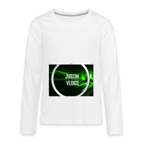 Wave green merchandise - Kids' Premium Long Sleeve T-Shirt