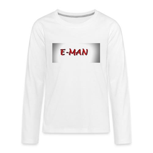 E-MAN - Kids' Premium Long Sleeve T-Shirt