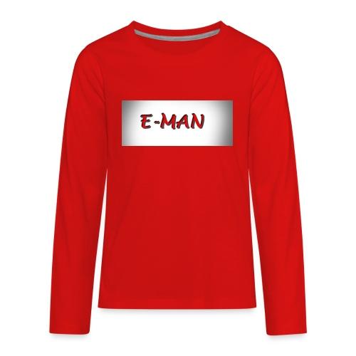E-MAN - Kids' Premium Long Sleeve T-Shirt