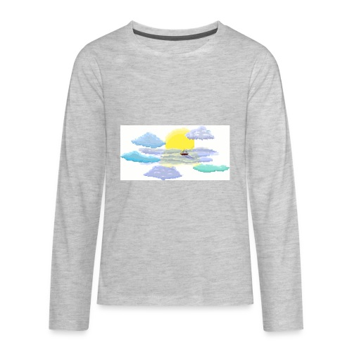 Sea of Clouds - Kids' Premium Long Sleeve T-Shirt
