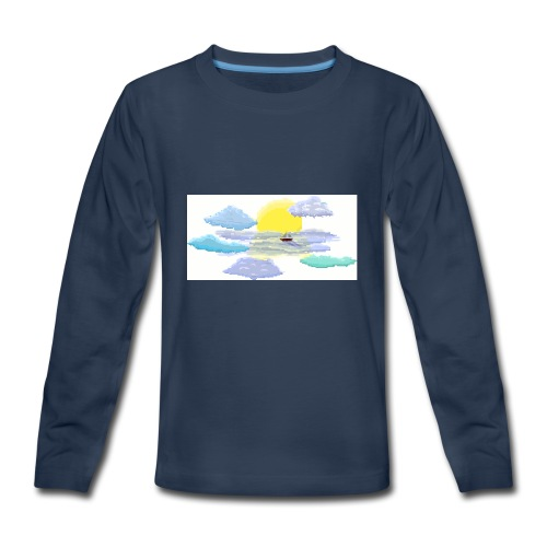 Sea of Clouds - Kids' Premium Long Sleeve T-Shirt