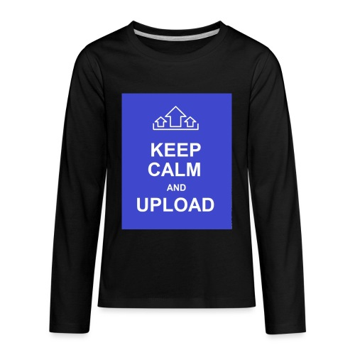 RockoWear Keep Calm - Kids' Premium Long Sleeve T-Shirt