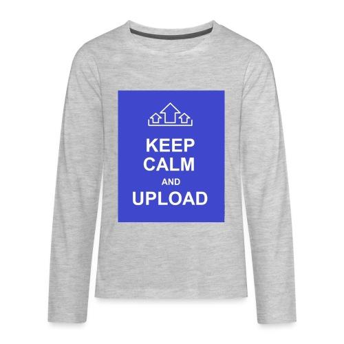 RockoWear Keep Calm - Kids' Premium Long Sleeve T-Shirt