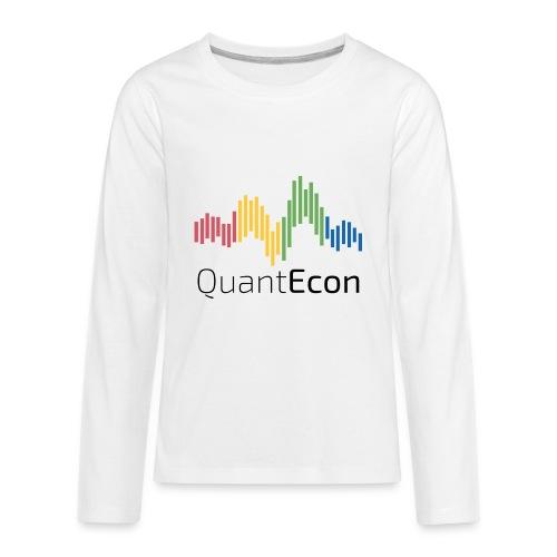 QuantEcon Official Logo - Kids' Premium Long Sleeve T-Shirt