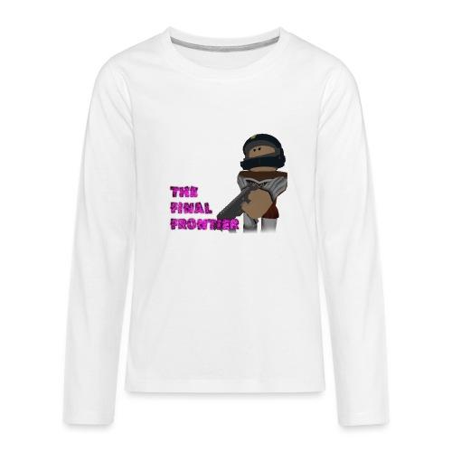 The Final Frontier Sports Items - Kids' Premium Long Sleeve T-Shirt